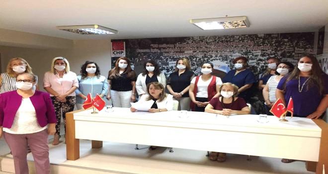 CHP'nin kadınları İzmir'den haykırdı: İstanbul Sözleşmesi yaşatır, kırmızı çizgimizdir