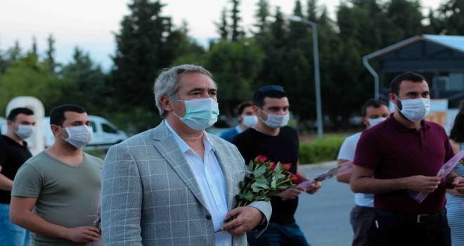 CHP Karşıyaka'dan mezarlıklara ziyaret