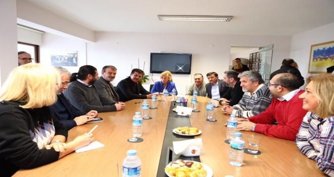 Zeybekci'den İGC'ye nezaket ziyareti