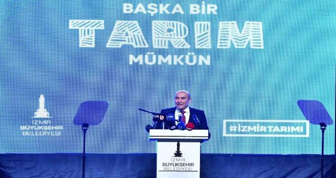 Başkan Soyer İzmir'in yeni tarım politikasını açıkladı