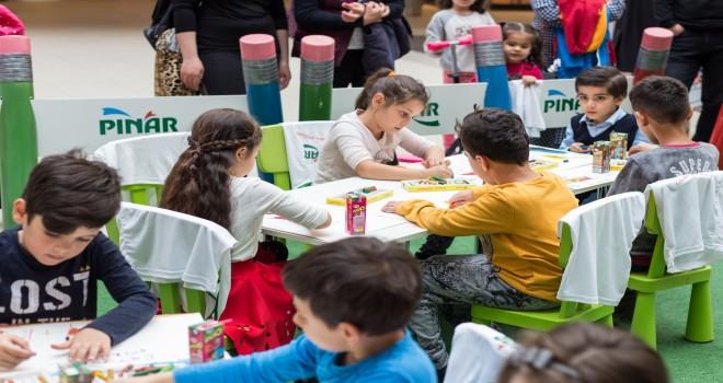Pınar Çocuk Resim Atölyesi  çocukların hayallerine ev sahipliği yapıyor