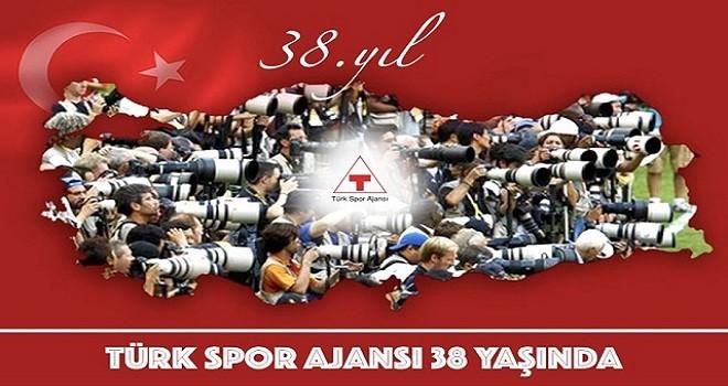 Türk Spor Ajansı, 38 yaşında