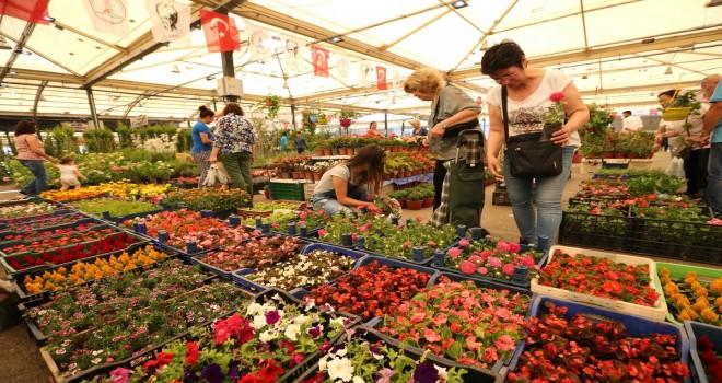 19. Karşıyaka Çiçek Pazarı yarın açılıyor
