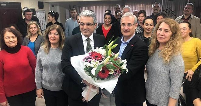 Başkan Akpınar, CHP'yi ziyaret etti