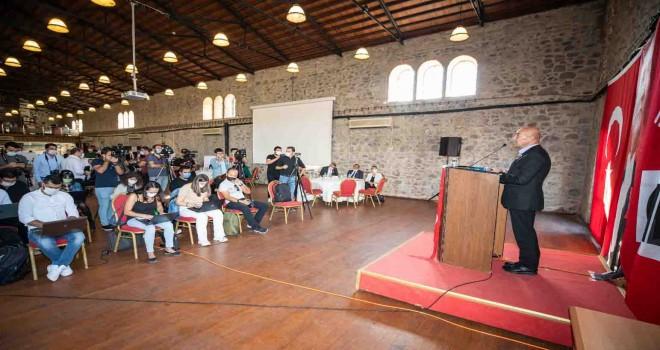 Başkan Soyer Arama Çalıştayı'nda konuştu