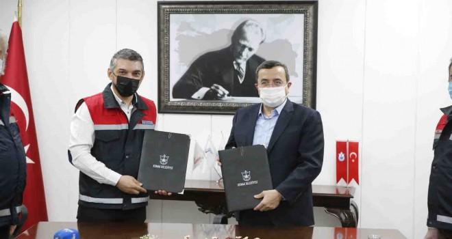 Konak'ta örnek işbirliği