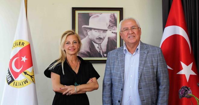 Başkan Selvitopu'ndan İGC'ye ziyaret