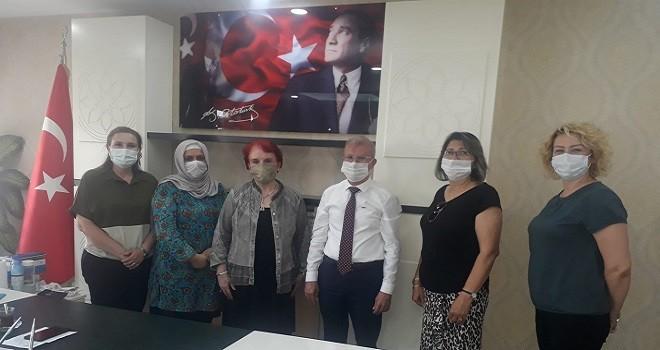 ADD ve TKB Yöneticilerinden Müftü Gürler'e ziyaret