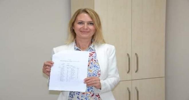 Ak Parti Karşıyaka İlçe Başkanı Keseli mazbatasını aldı