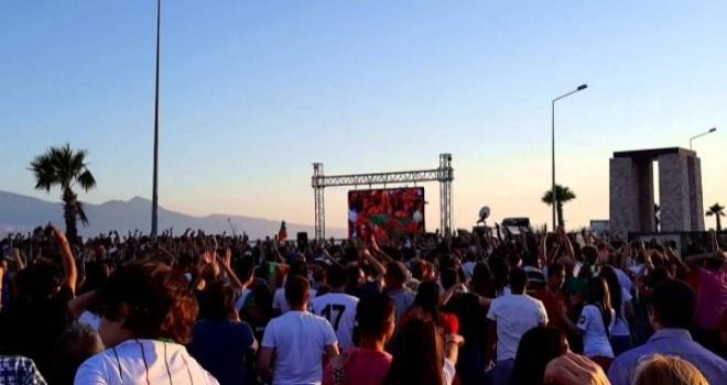 Dev ekrana İzmir Valiliği İl Pandemi Kurulu izin vermedi