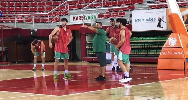 Pınar Karşıyaka hazırlıklarını sürdürüyor