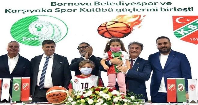 Bornova Belediyesi Karşıyaka için imzalar atıldı