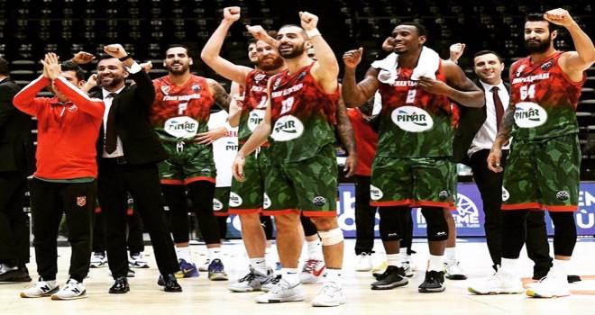 Pınar Karşıyaka, Empera Halı Gaziantep Basketbol'u ağırlıyor