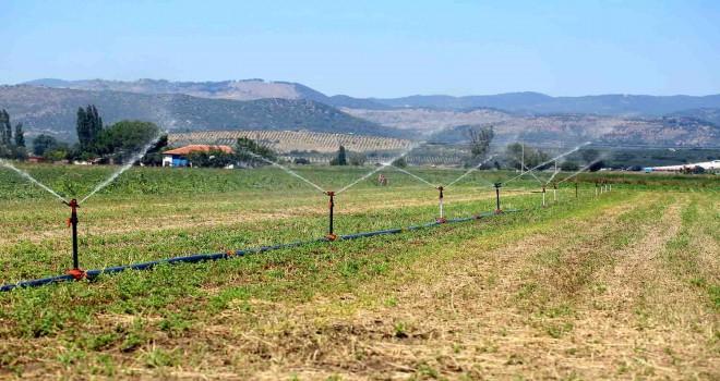 İzmir'de 400 Bin Dekar tarım arazisi sulanmaya başladı