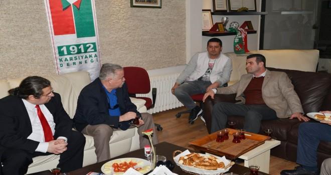 Karşıyaka Vatan Partisi ve bağımsız aday 1912 Derneği'ni ziyaret etti