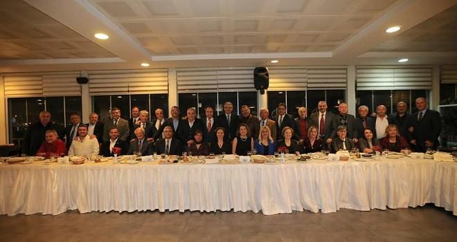 Başkan Akpınar meclis üyelerine yemek verdi