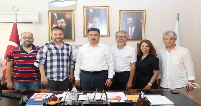 TSYD İzmir Şubesi'nden Gençlik ve Spor İl Müdürü Murat Eskici'ye ziyaret