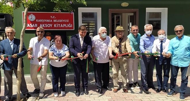Yaşar Aksoy Kitaplığı açıldı
