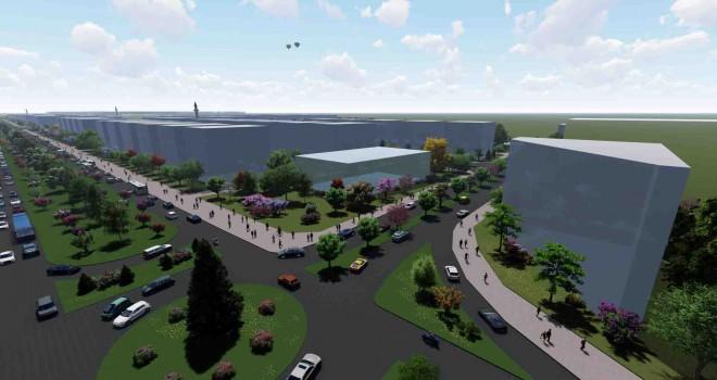 Başkan Selvitopu: 110 hektarlık alan model oluşturacak