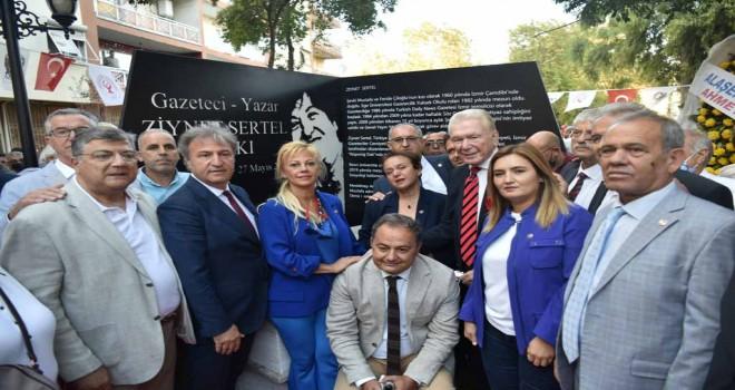 Ziynet Sertel'in adı Bornova'da yaşayacak