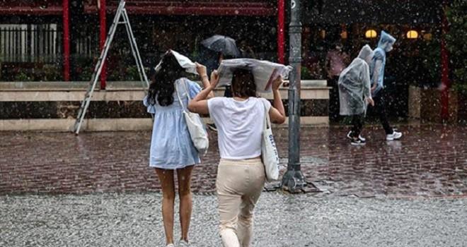 Sağanak yağmura dikkat...