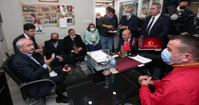 Kılıçdaroğlu'ndan Cumhuriyet Mahallesi'ne ziyaret