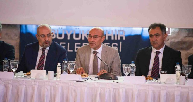 İzmir Afet Platformu'nun ilk toplantısı yapıldı