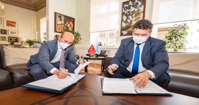 İzmir Büyükşehir ile BM arasında işbirliği mutabakatı