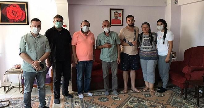 Sarıgedik, Vardar ailesini ziyaret etti