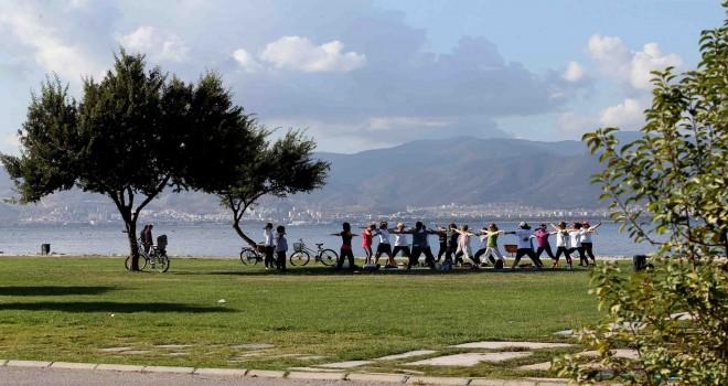 Karşıyaka'da sabah sporu sezonu başlıyor