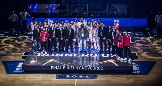 Pınar Karşıyaka Şampiyonlar Ligi 2.'si oldu