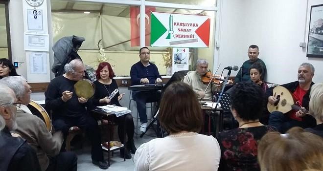 Karşıyaka Sanat Derneği TSM Korosu çıtayı yükseltti