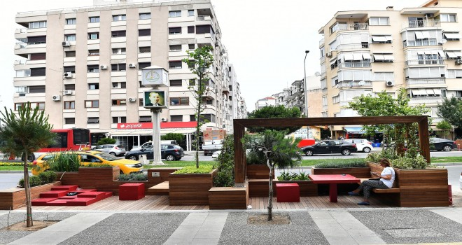 Girne Caddesi'nde huzurlu bir mola