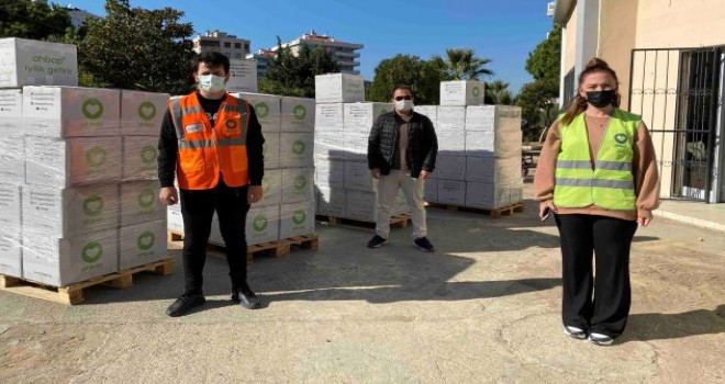 AHBAP'tan Narlıdere'ye destek