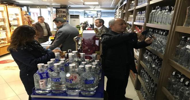 Yılbaşı öncesi alkollü içki denetimleri arttı