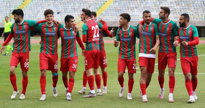 Karşıyaka, Çarşambaspor'u mağlup etti
