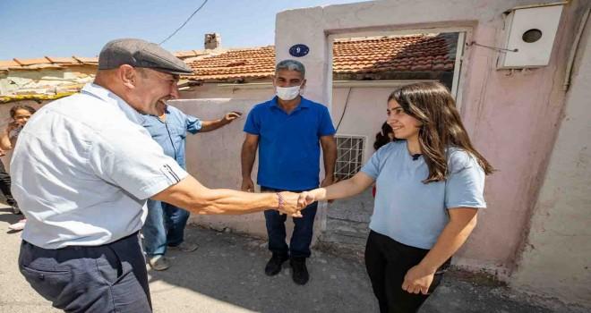 Başkan Soyer'den Kadifekale'ye sürpriz ziyaret