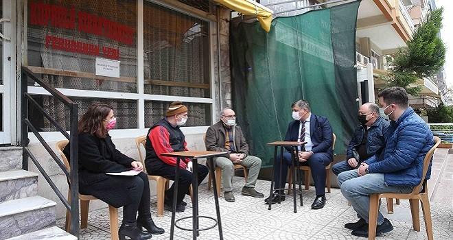 Karşıyaka Belediyesi'nden kahvelere 500'er TL destek!