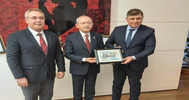 Başkan Tugay ve Koç'tan Kemal Kılıçdaroğlu'na ziyaret