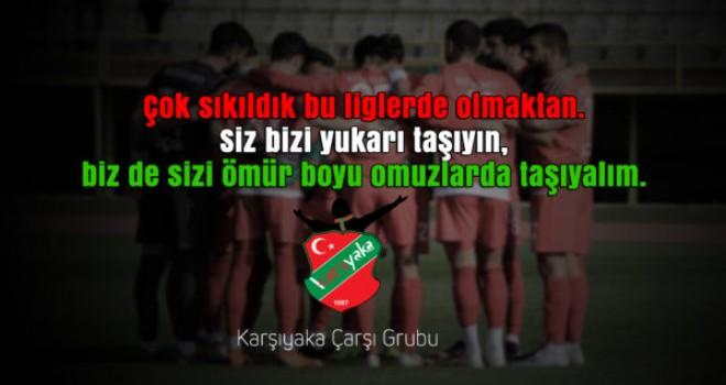 Karşıyaka Çarşı: Siz savaşın, gerisini bize bırakın