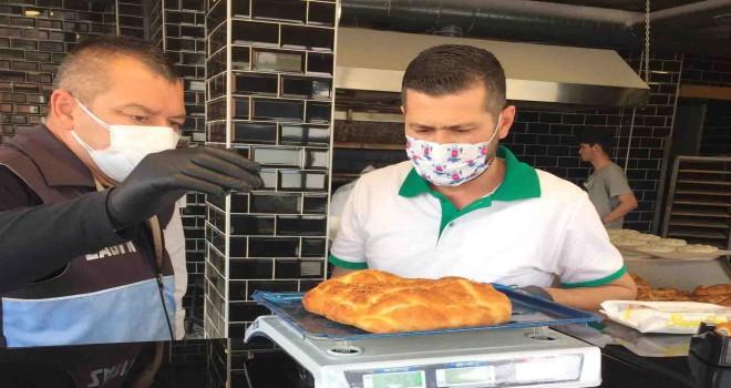 Çiğli'de fırınlara Ramazan denetimi