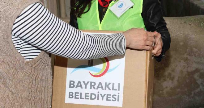 Bayraklı Belediyesi'nden sel mağdurlarına sosyal destek