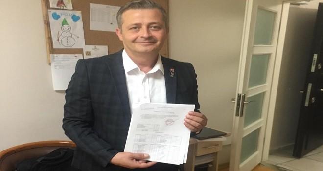 DSP Karşıyaka İlçe Başkanı mazbatasını aldı
