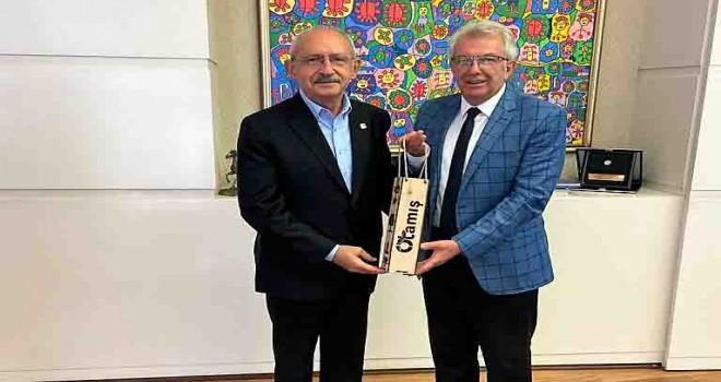 Başkan Eriş, CHP Lideri Kılıçdaroğlu'nu ziyaret etti