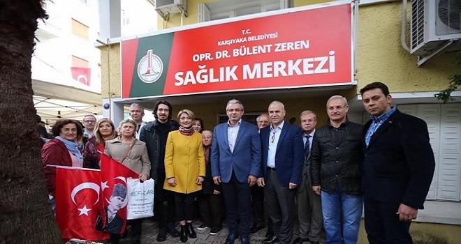 Sağlık İşleri Müdürlüğüne Dr. Bülent Zeren'in adı verildi