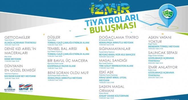 İzmir Tiyatrolar Buluşması kentte tiyatro rüzgârı estirecek