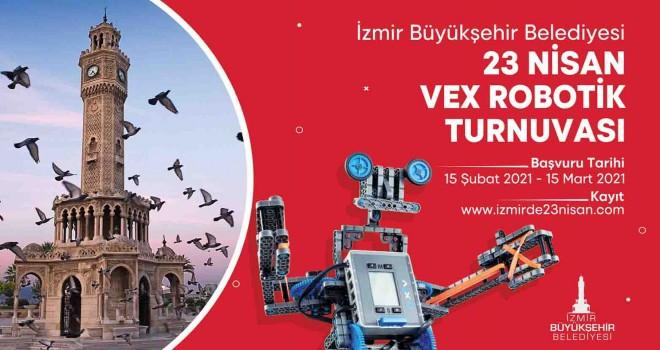23 Nisan'da Vex Robotik Turnuvası