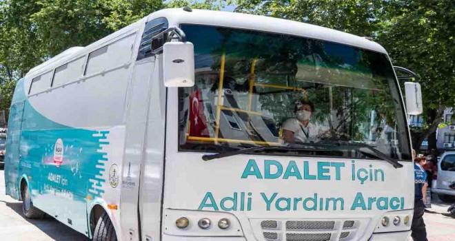 Türkiye'de ilk: Adalet İçin Adli Yardım Aracı hizmette