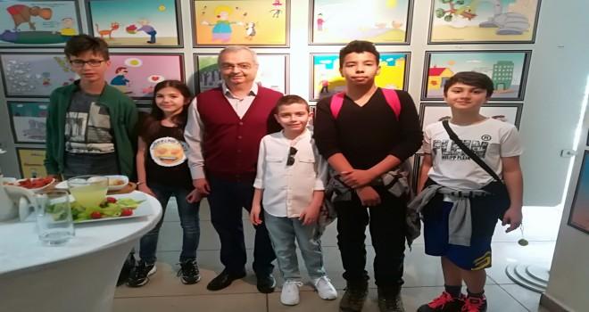 Çocuklardan KİTVAK'a sanatla destek