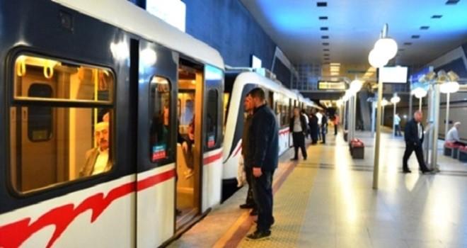 İzmir Metro'da mutlu son...
